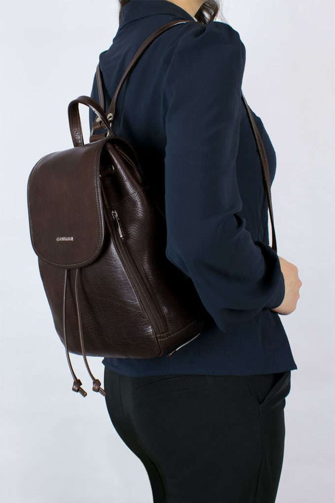 leather, backbag, made in italy, carlo carmagnini