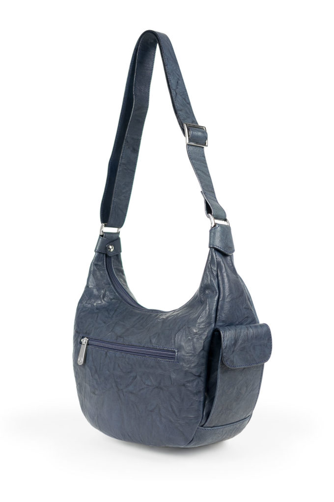 carlo carmagnini, leather bag, italian leather bag, soft leather, halfmoon bag, made in italy, handmade bag, made in florence